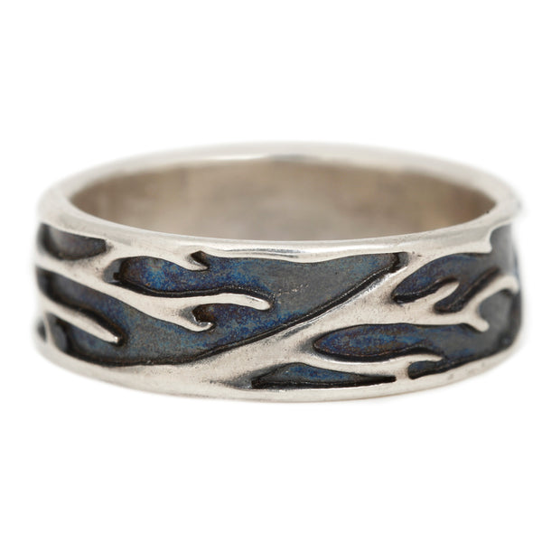 Luana Coonen White Gold Branching Ring.