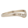 Sarah Swell White Gold Diamond Arch Band