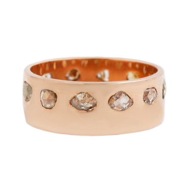 Dezso by Sara Beltran Freeform Diamond Cigar Band