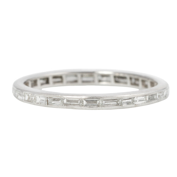 Baguette Eternity Diamond Band