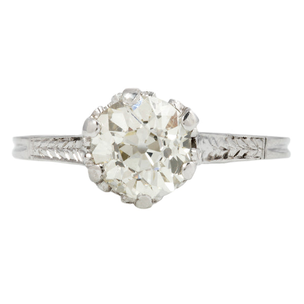 Art Deco Fancy Basket Diamond Ring