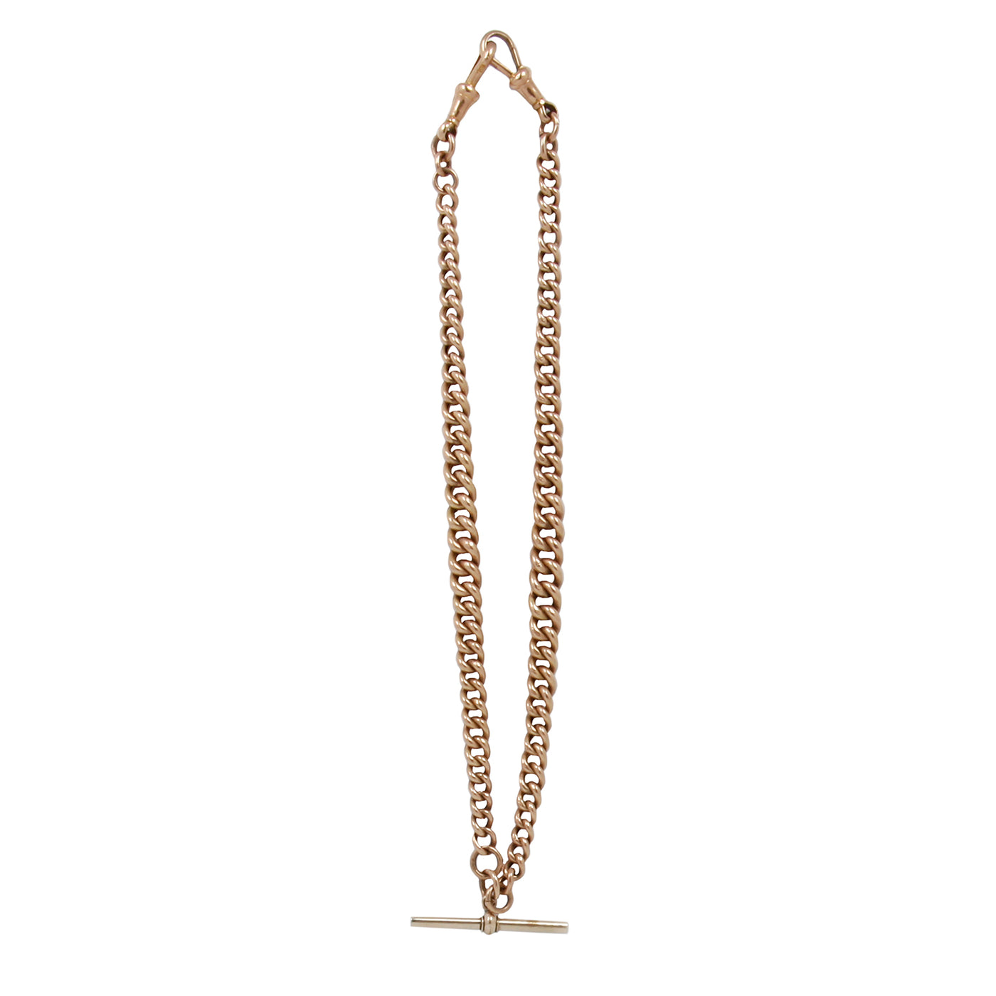 Yellow Gold Albert Chain
