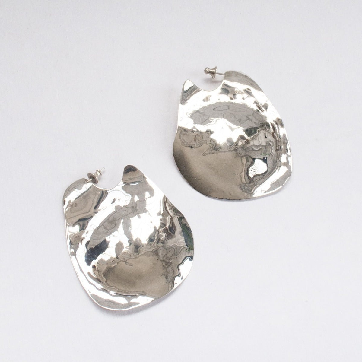 Faris Silver Lagoon Earrings