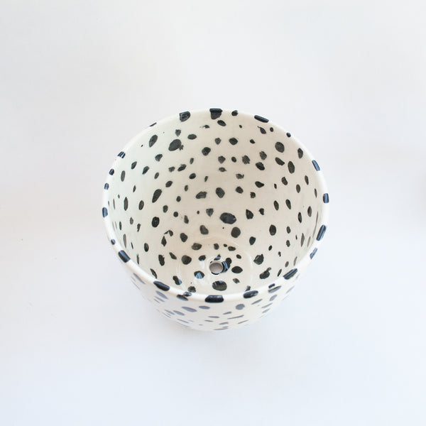 Franca Medium Speckled Planter
