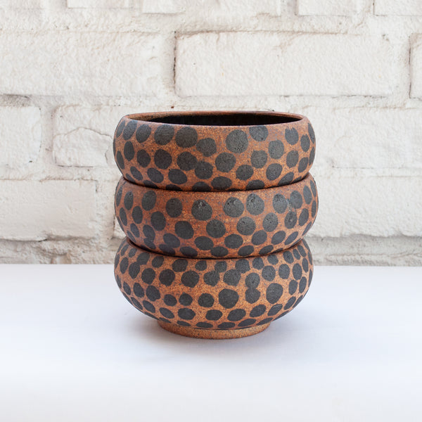 Heather Levine Dots Bowl