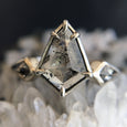Space Goddess Diamond Ring