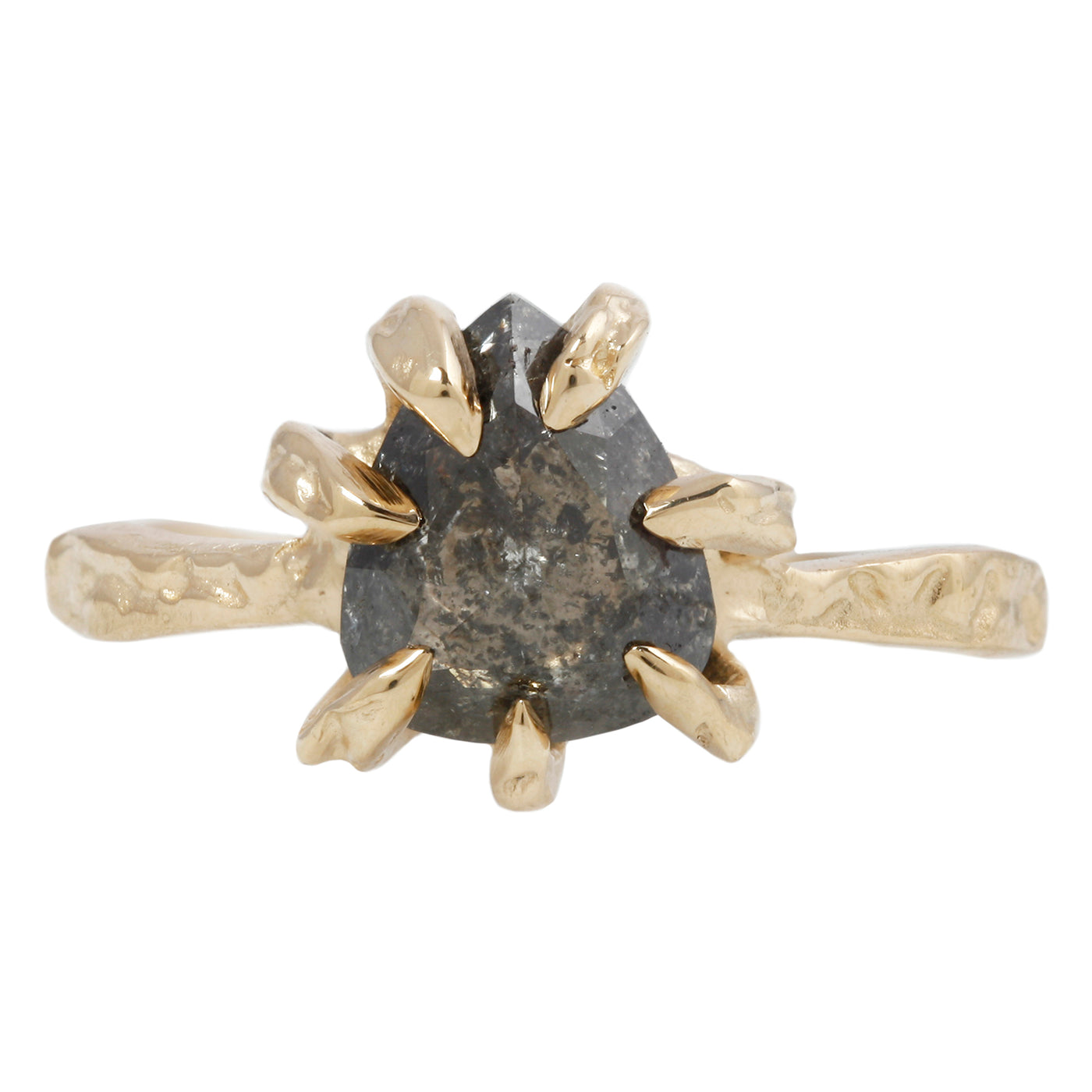 Smoky Pear Stingray Claw Solitaire