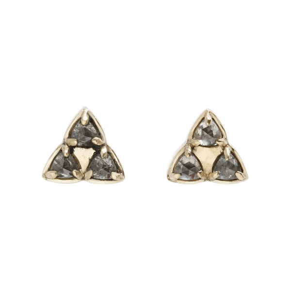 Lauren Wolf Three Triangle Studs