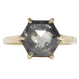 Lauren Wolf Salty Hexagon Ring
