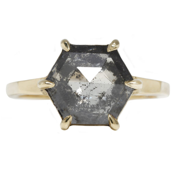 Salty Hexagon Ring