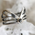Diamond Winged Ring