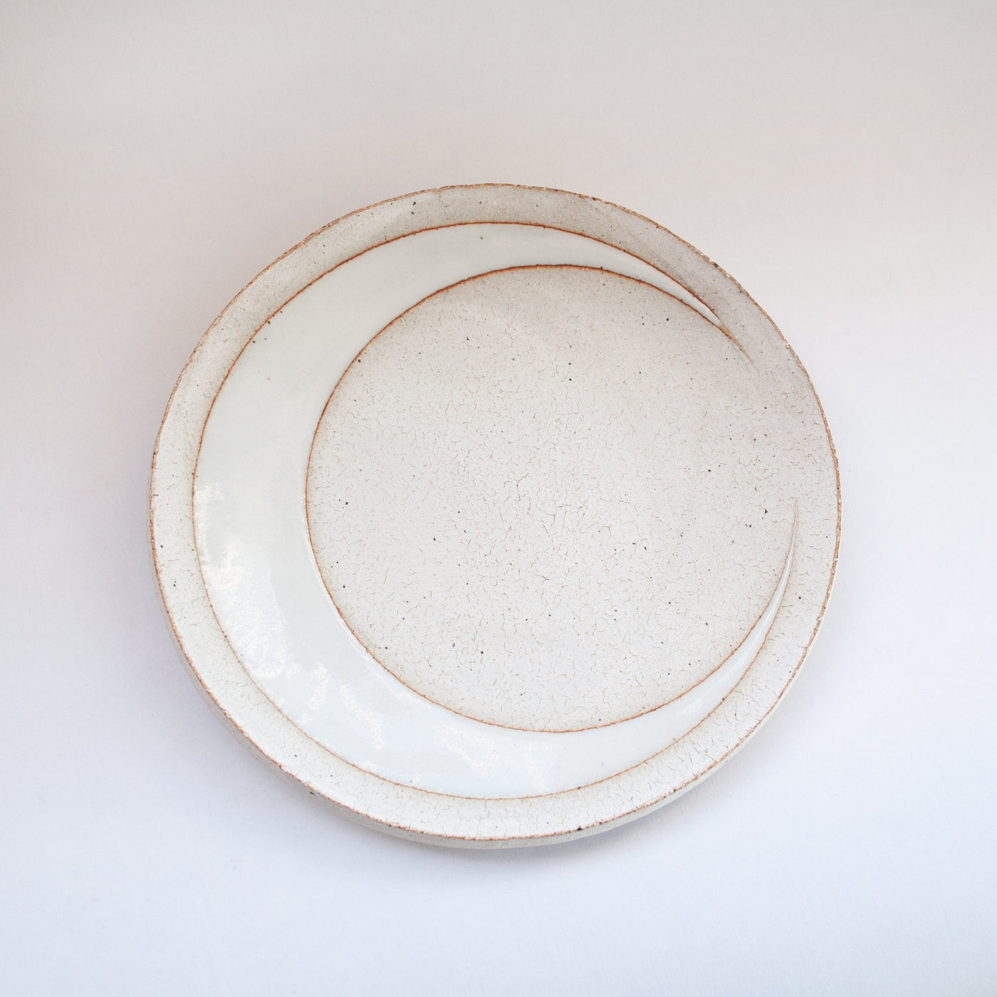 MQuan Crescent Dish in White