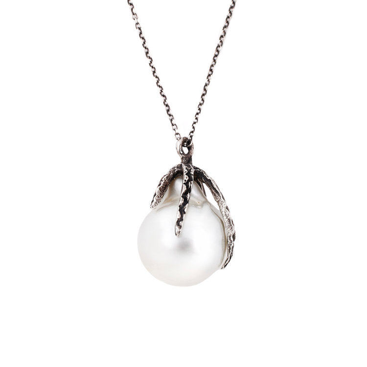Lauren Wolf Jewelry Silver South Sea Pearl Necklace