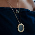 Large Floating Glass Locket