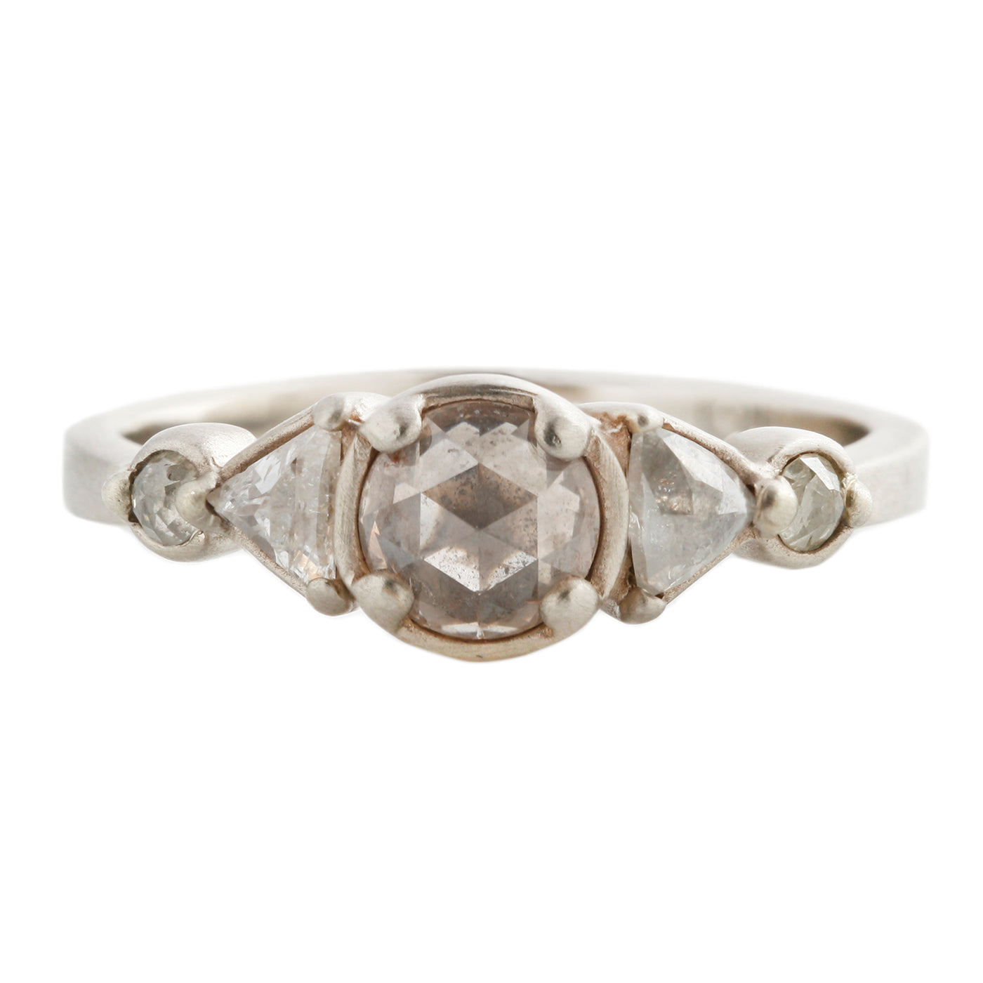 Five Diamond Totem Ring