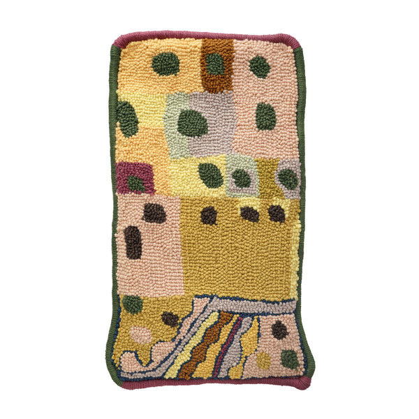 Rachel Thomander Rug/Wall Hanging 11 (Narrow Polka Dot)