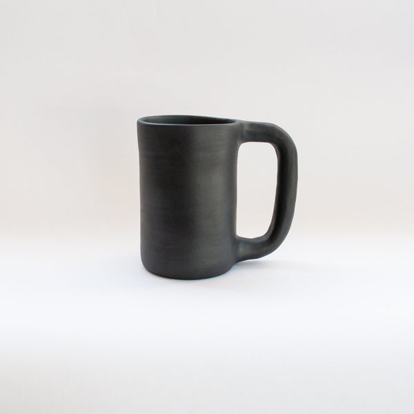 Workaday Tall Black Mug