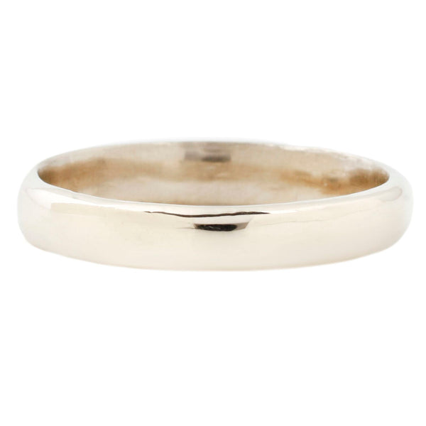 Lauren Wolf Yellow Gold Thin Men's Band