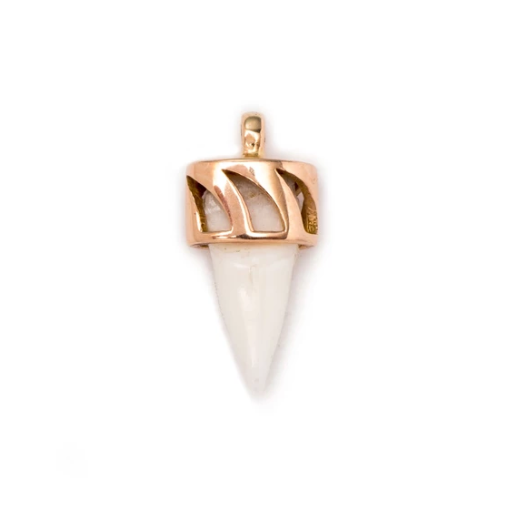 White Shark Tooth Pendant