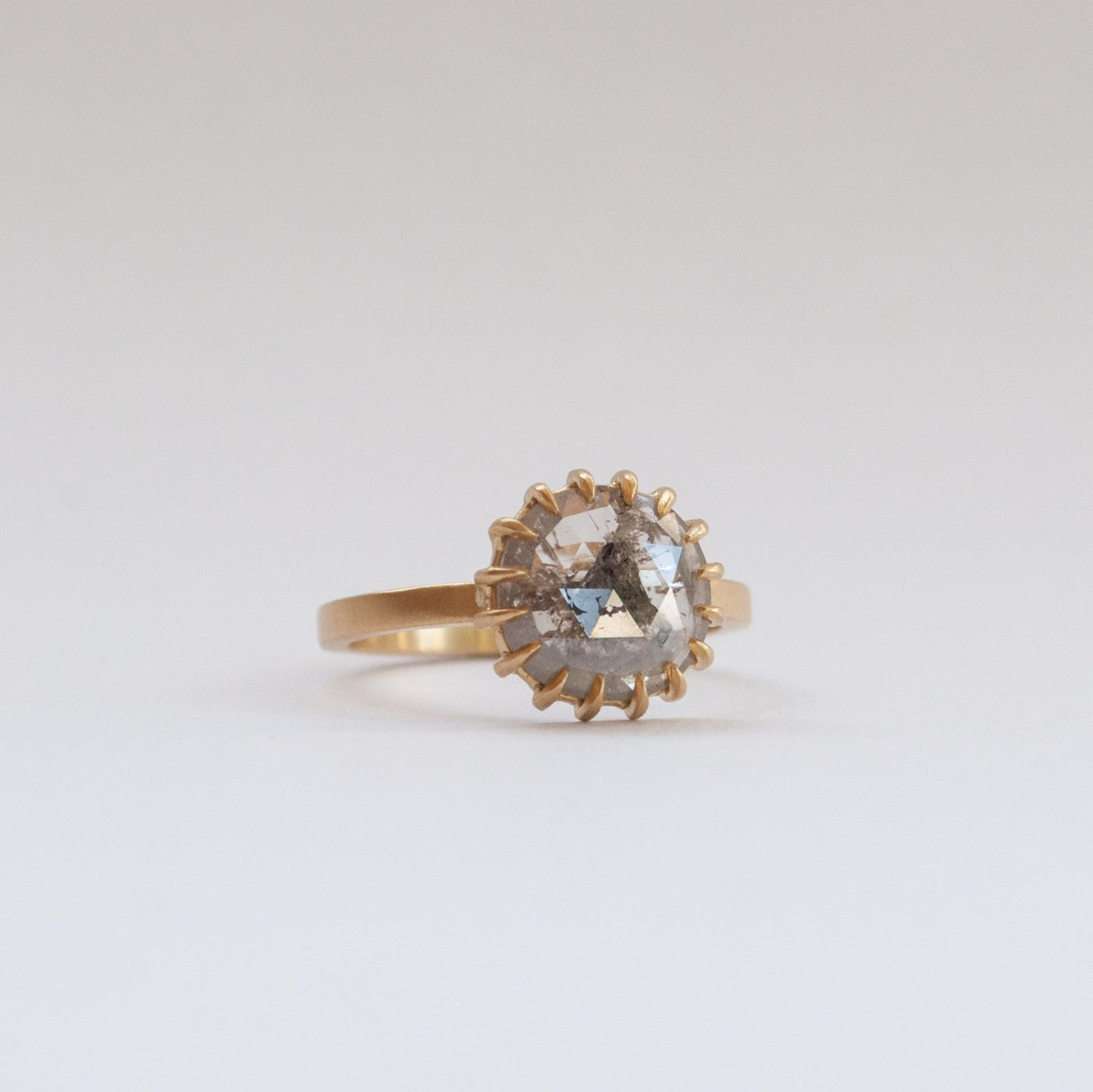 Sarah Swell Soleil Solitaire Diamond Ring