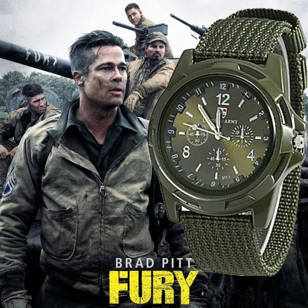 2018 Men Nylon band Military watch Gemius Army watch High Quality Quartz Movement Men sports watch Casual wristwatches - Accessories