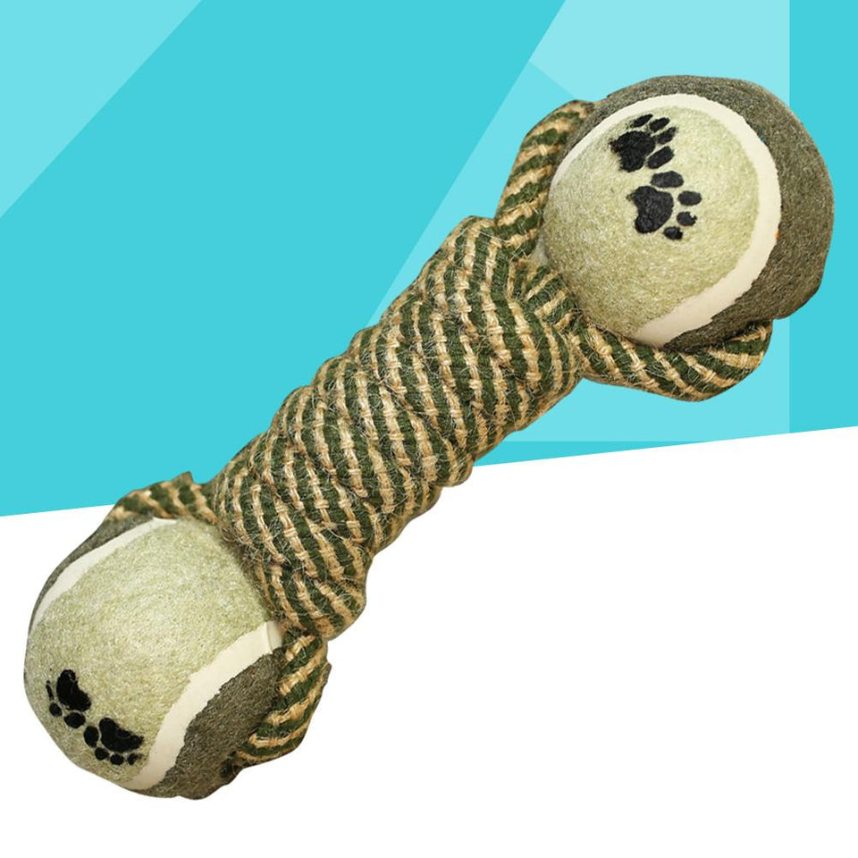 Cotton Rope Dog Chew Toy toy PetsWheel