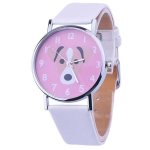 Doggo Women's Watch watches PetsWheel White