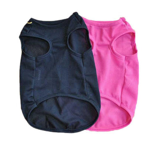 Newest Summer Breathable Mesh Pet Clothes clothes PetsWheel