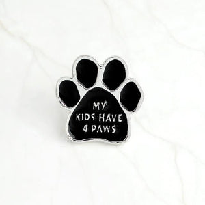 Paw Brooch accessories PetsWheel 4PAWS