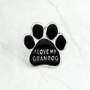 Paw Brooch accessories PetsWheel GRANDOG