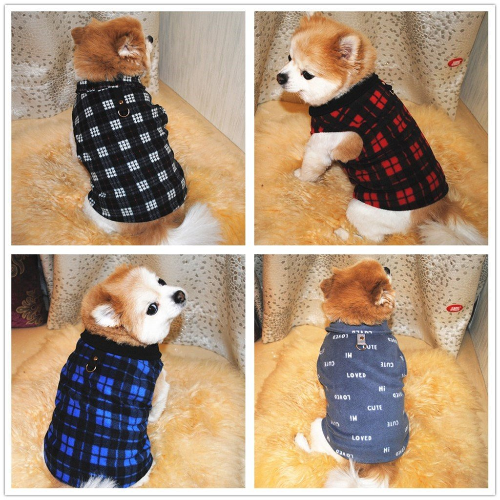 Pet Warm Vest clothes PetsWheel