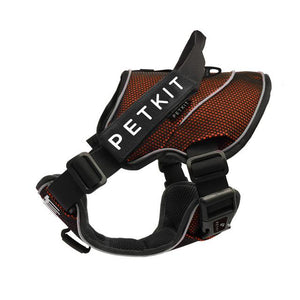 PETKIT Pet Dogs Harnesses harness PetsWheel Orange-Black S