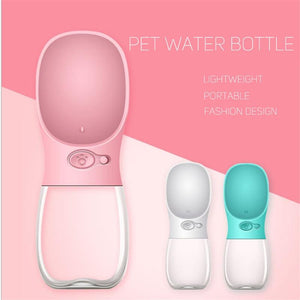 Portable Pet Water Bottle bottle PetsWheel