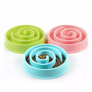 Slow Feeding Bowl | $13.99 | bowl, cat, dog | bowl | PetsWheel | PetsWheel