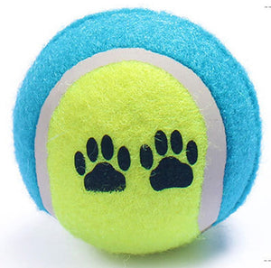 Thick Rubber Dog Chewing Training Ball, Random Color