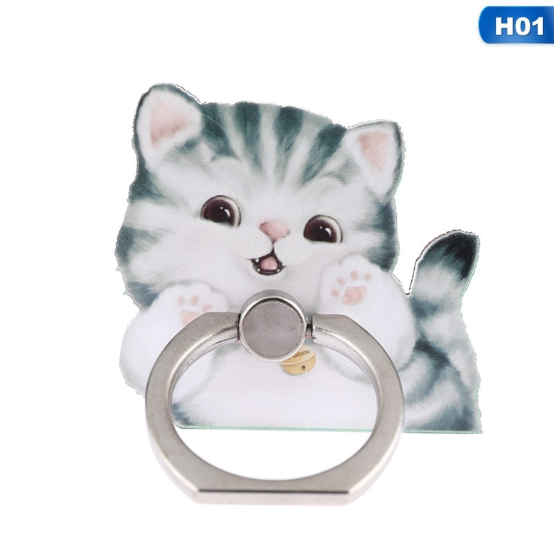 Smartphone Holder Ring | $9.99 | accessories, cat, dog, fps | PetsWheel | PetsWheel