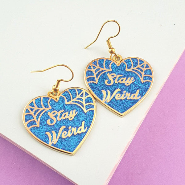 Stay Weird Earrings