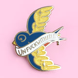 Unfuckwithable Lapel Pin