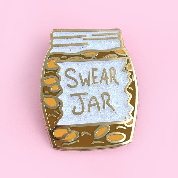 Swear Jar Lapel Pin