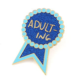 Adulting Lapel Pin