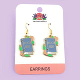 Book Nerd Earrings