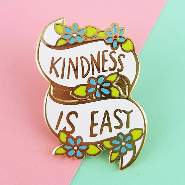 Kindness Is Easy Lapel Pin
