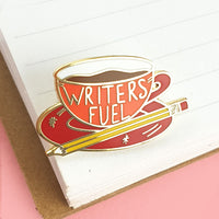 Writers Fuel Lapel Pin