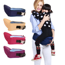 Load image into Gallery viewer, Baby Carrier Waist Stool Walkers Baby Sling Hold Waist Belt Backpack Hipseat Belt Kids Infant Hip Seat baby accessories