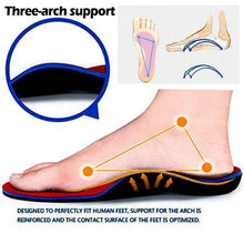 Load image into Gallery viewer, Premium Quality Orthotic Insoles