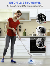 Load image into Gallery viewer, ELECTRIC BRUSH - CLEANER, SPINNER & SCRUBBER