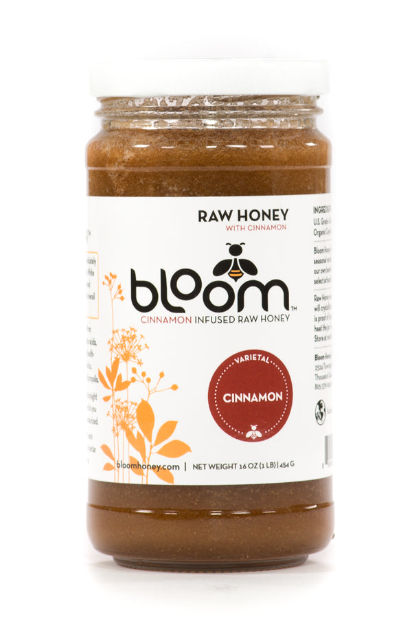 Organic Cinnamon Infused Honey