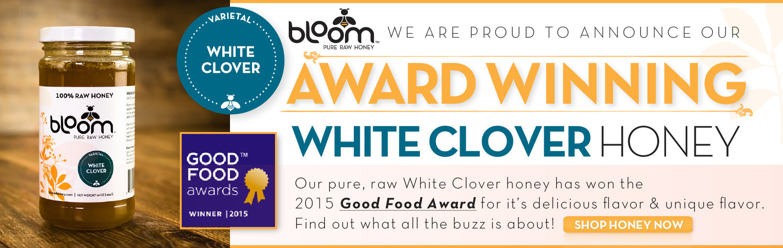 White Clover Wins Good Food Award