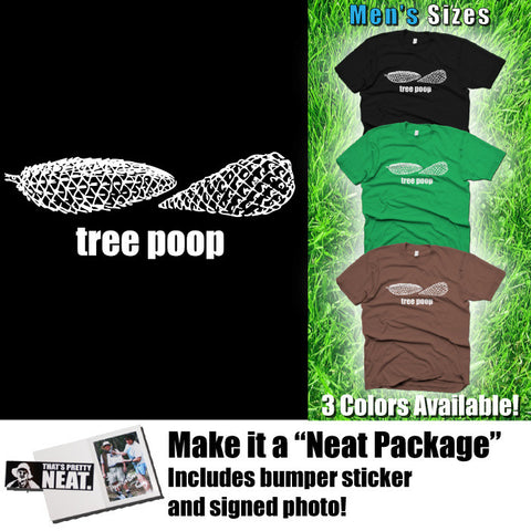 "Lenny Pepperbottom ""Tree Poop"" T-shirt (Men's Sizes)"
