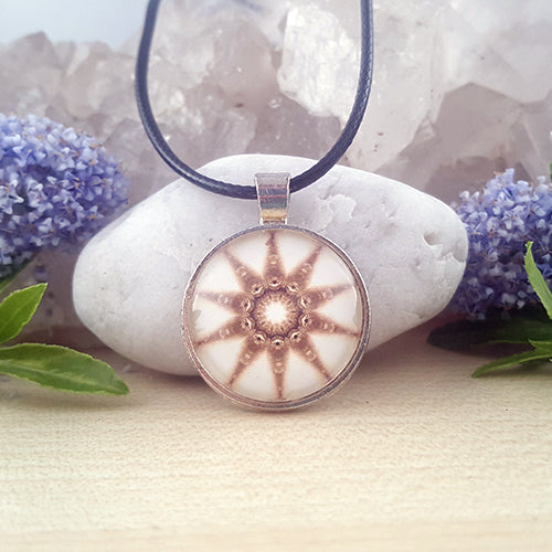 Diamond Light Mandala Pendant